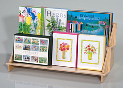 Wood Book, Media, and Boxed Card Displays